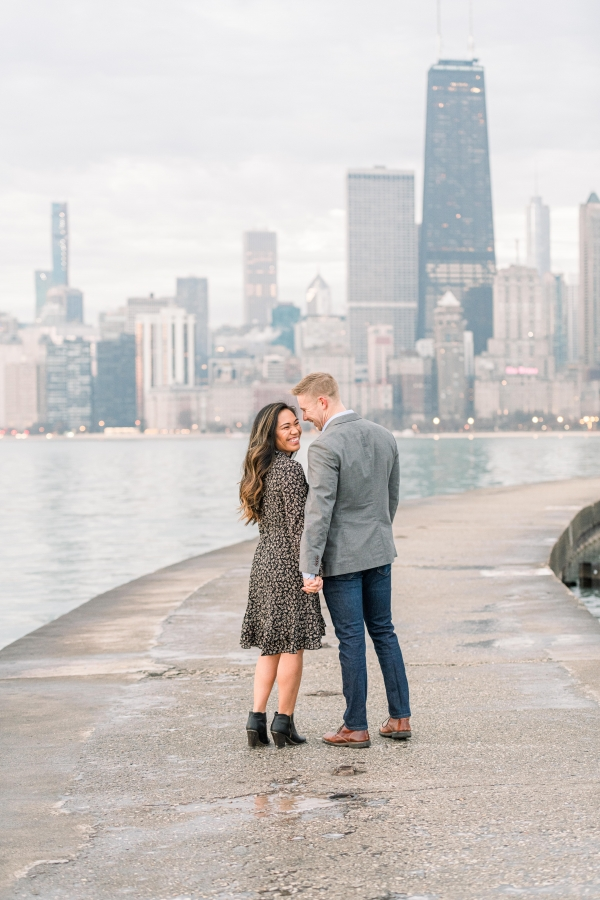 Melissa-Chris-North-Ave-Beach-Lincoln-Park-Chicago-Engagement-9