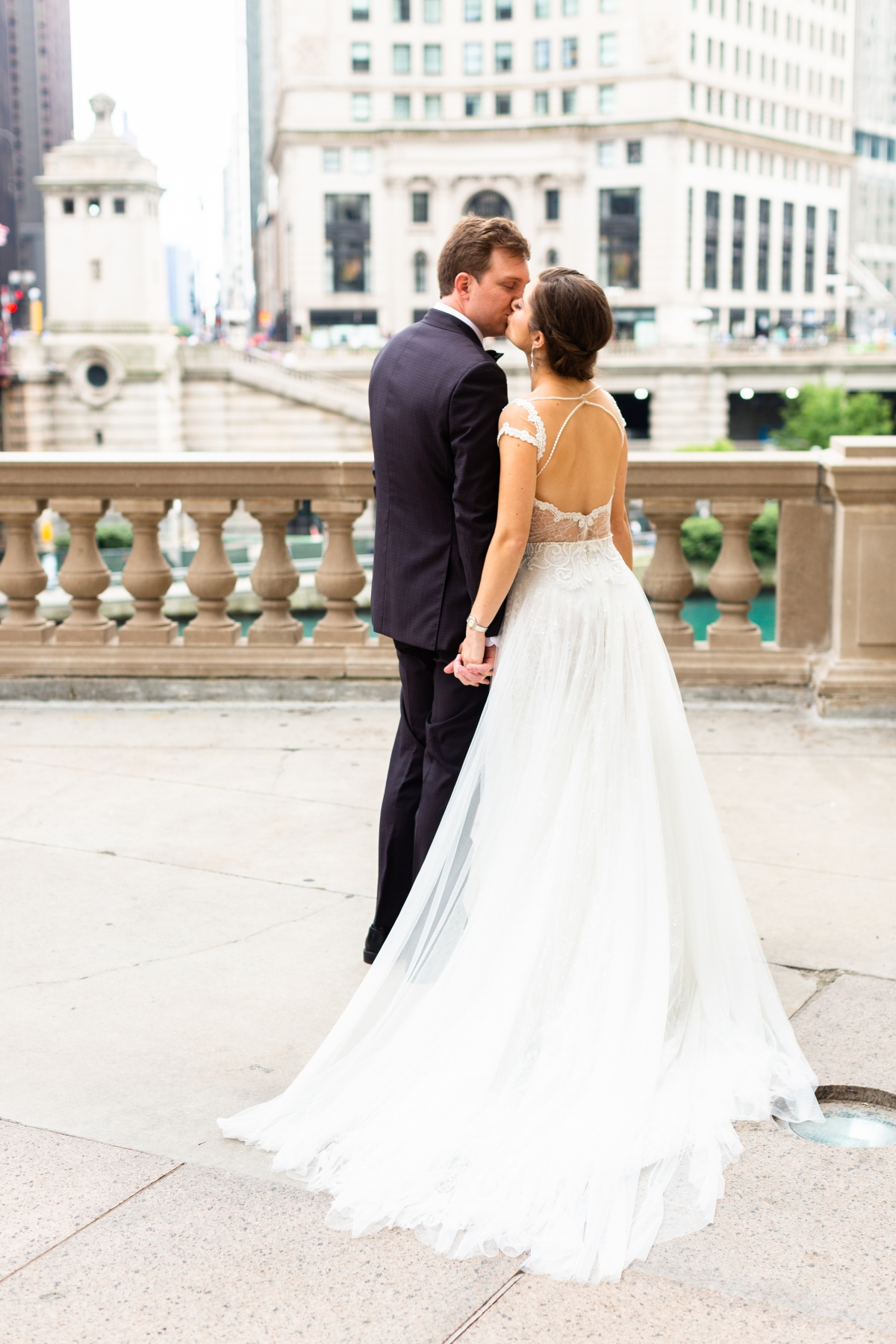 summer peninsula wedding chicago 109