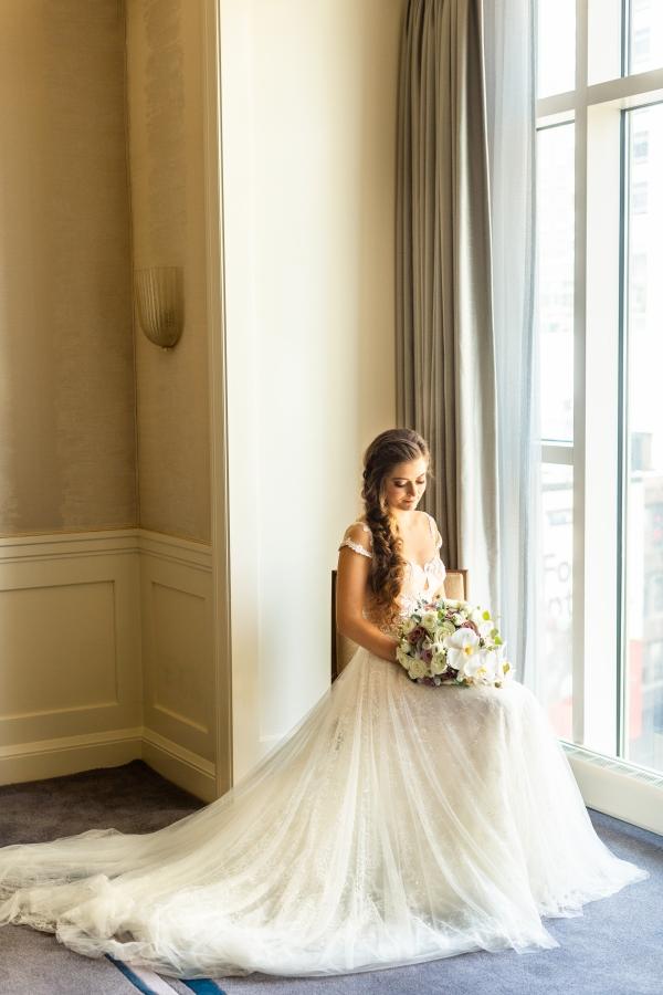 Extravagant Jewish Wedding with Dripping Florals