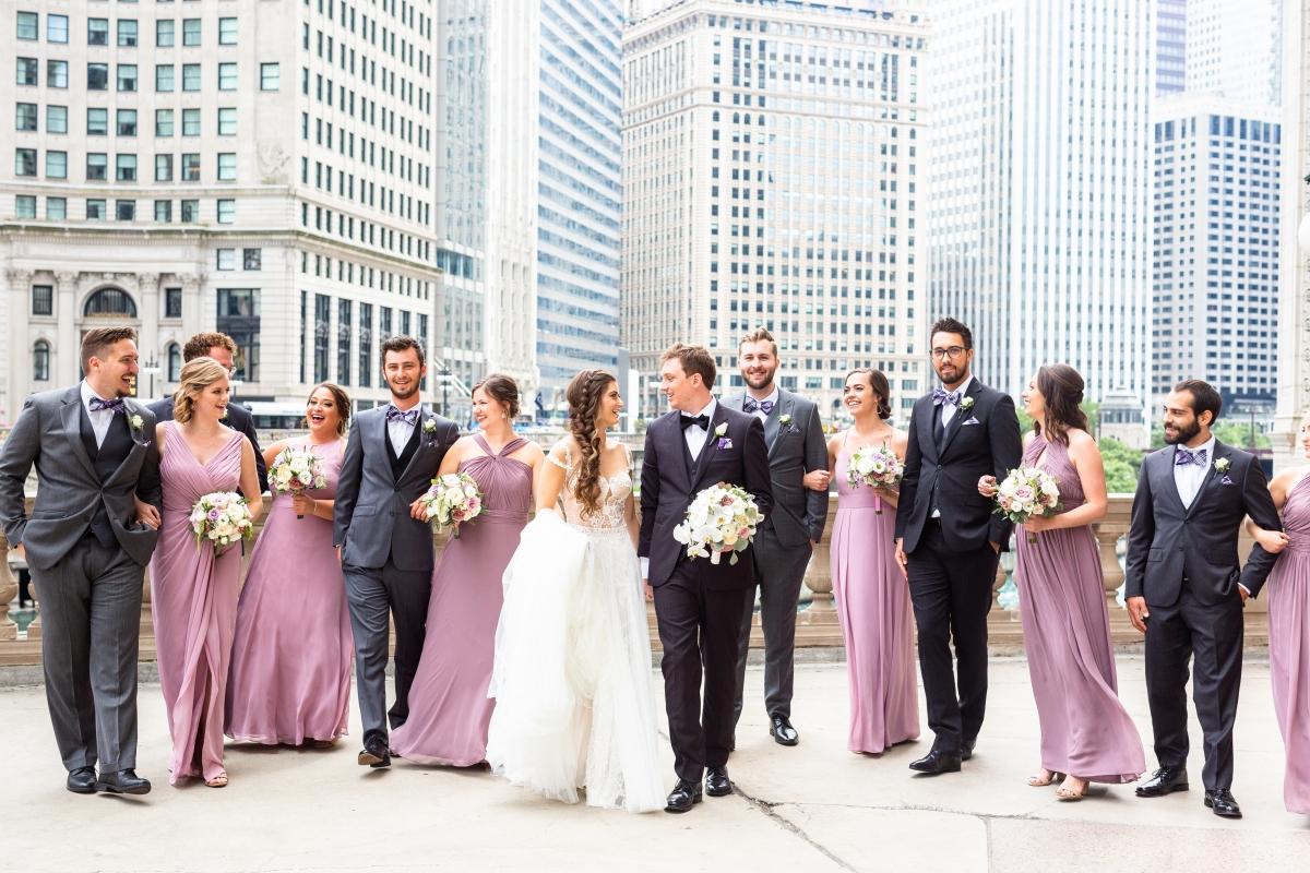 summer peninsula wedding chicago 67