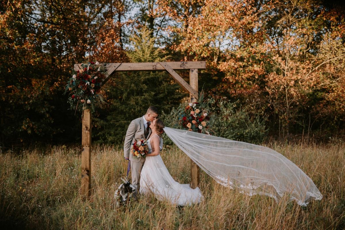 Millennium Moments Chicago Wedding Photographer Camp Aramoni Tonica Illinois Goat Rustic