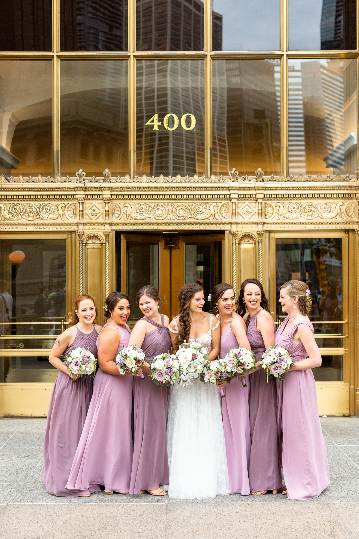 summer peninsula wedding chicago 78